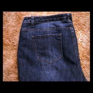 Ashley Stewart straight leg jeans